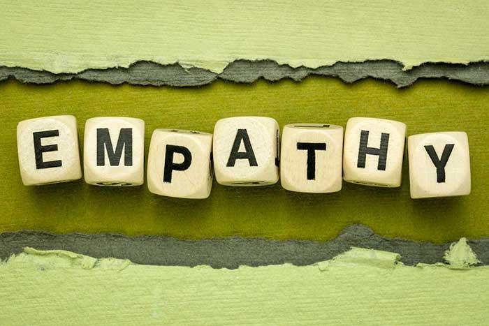 Upstander trait: Empathy